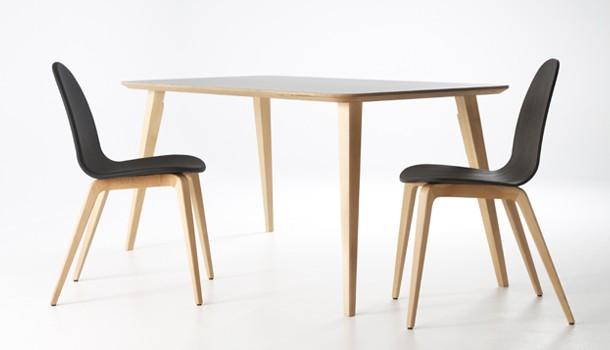 chaise et table BOB