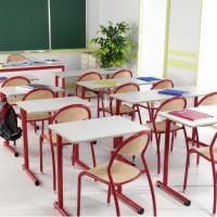 table chaise salle de classe