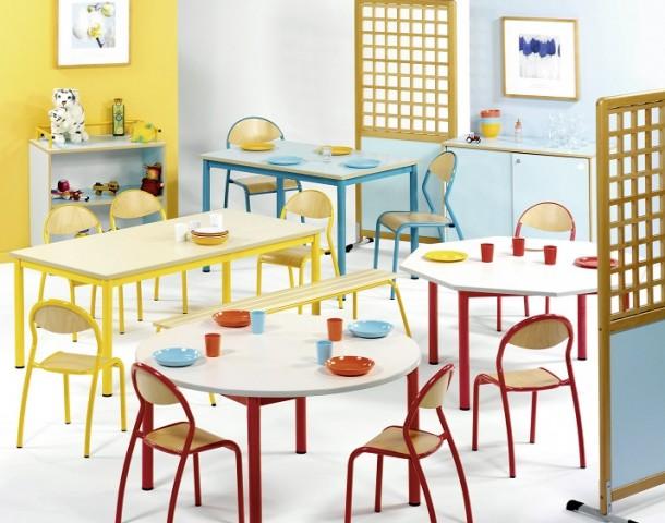 mobilier restaurant maternelle