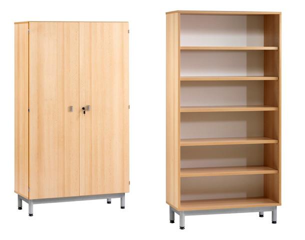 armoire et bibliotheque