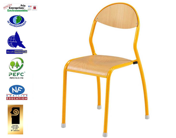 chaise rondo antibruit ecole