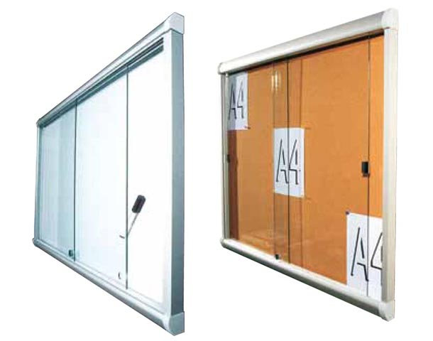 vitrines d'affichage